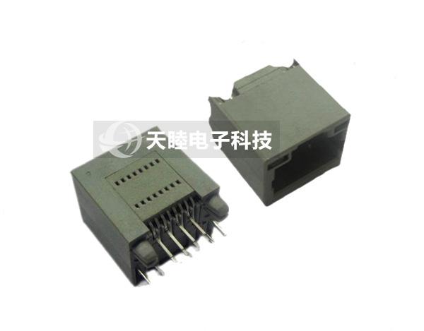 网络插座带led全塑(tm-52t88s01)