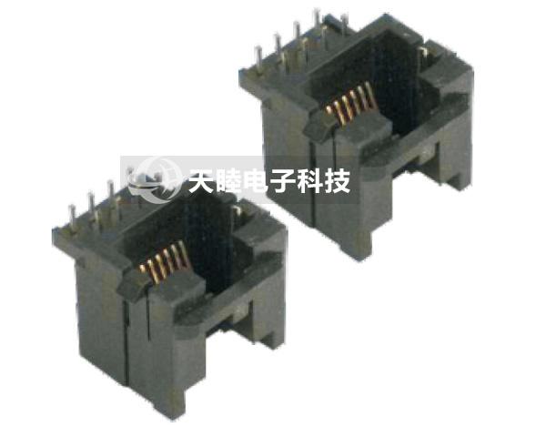 网络插座卡板式,pcb网络插座(tm-sp-158p插入式)